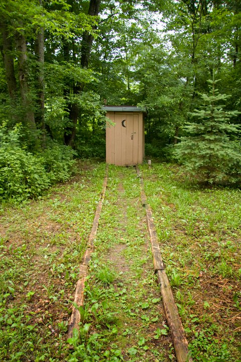 Yes. That IS an outhouse...