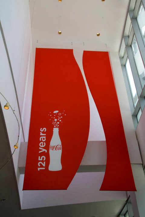 The entrance into the World of Coca-Cola © Holly Hildreth 2011