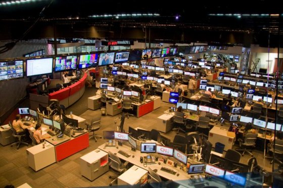 CNN Newsroom © Holly Hildreth 2011