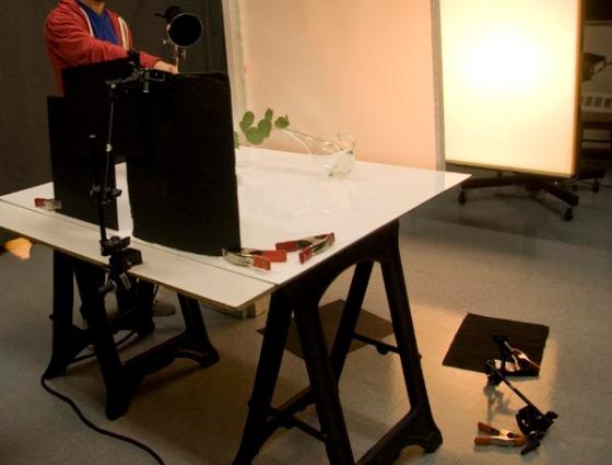 Production shot for Black Line