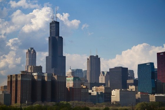 Chicago Skyline © Holly Hildreth 2012