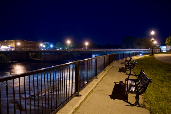 Main Street Bridge, Waverly, IA  © Holly Hildreth 2012