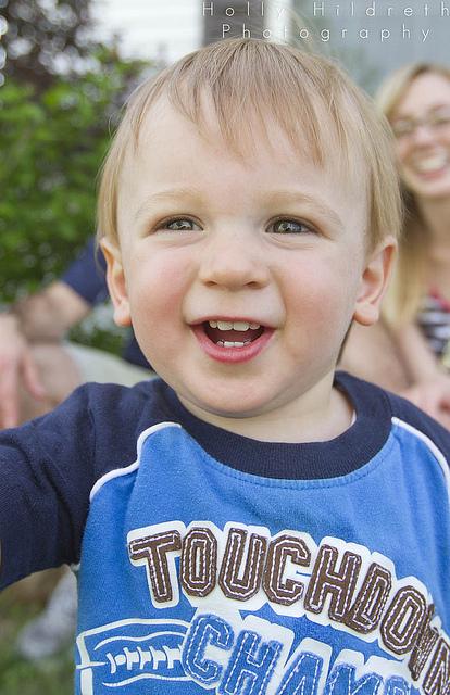 My nephew. © Holly Hildreth 2013