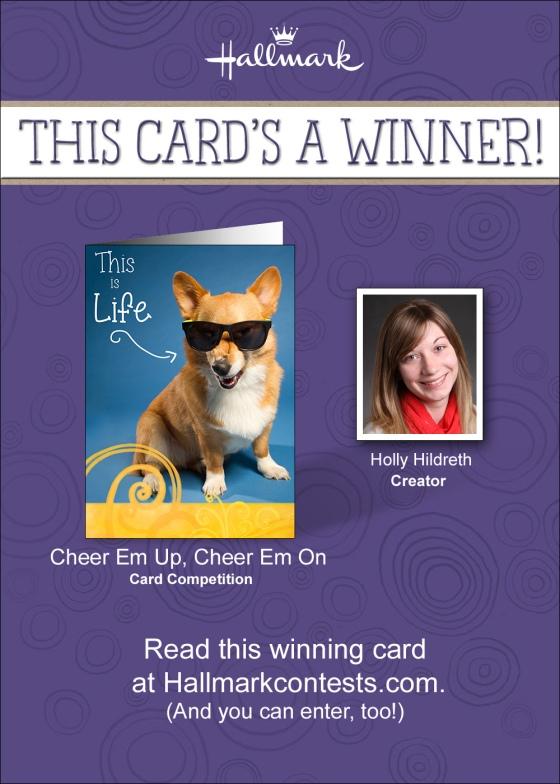 Holly Hildreth Hallmark Card
